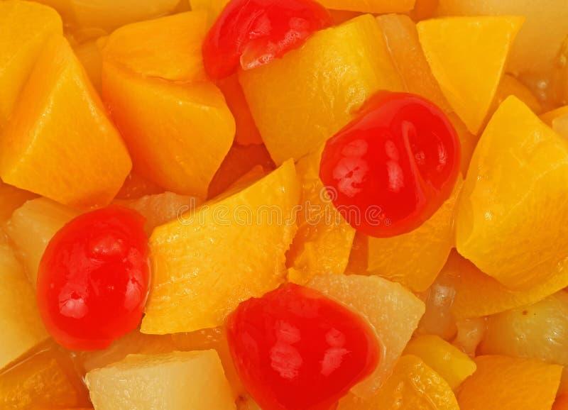 Cocktail de fruta próximo da vista imagens de stock