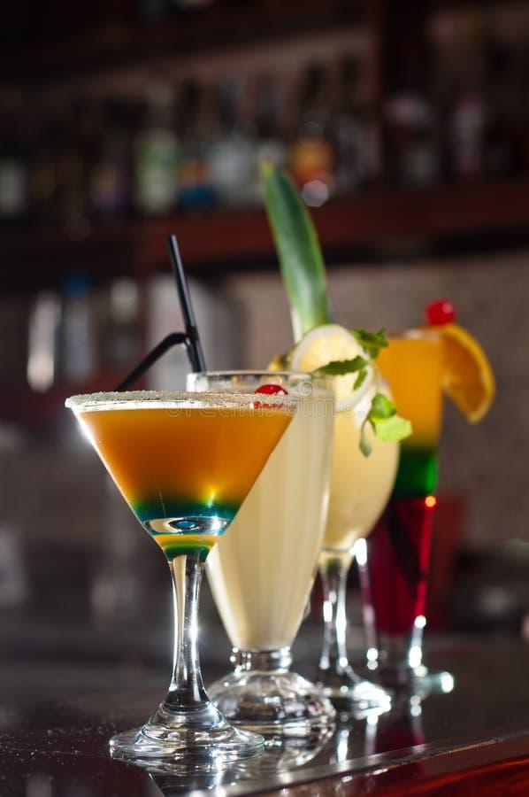 cocktail de fruto imagem de stock royalty free
