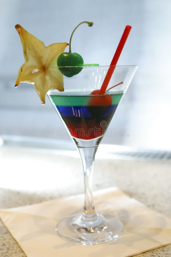 Cocktail de Japaneese photographie stock libre de droits