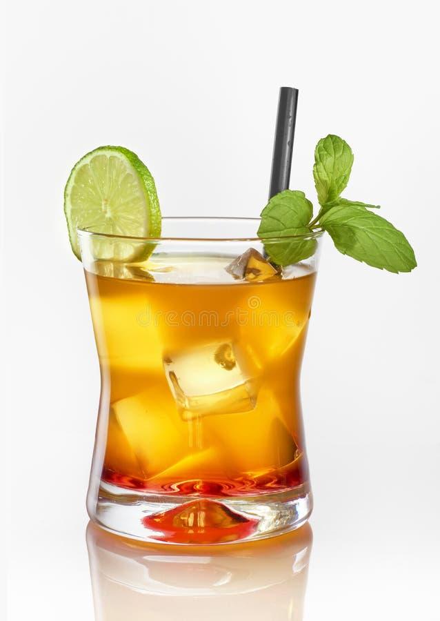 Cocktail de lever de soleil de Tequila photo libre de droits