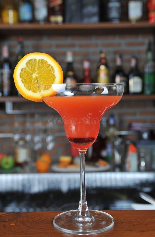Cocktail de lever de soleil de Tequila images libres de droits