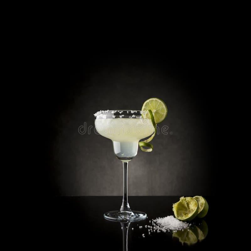 Cocktail de margarita de chaux photos libres de droits