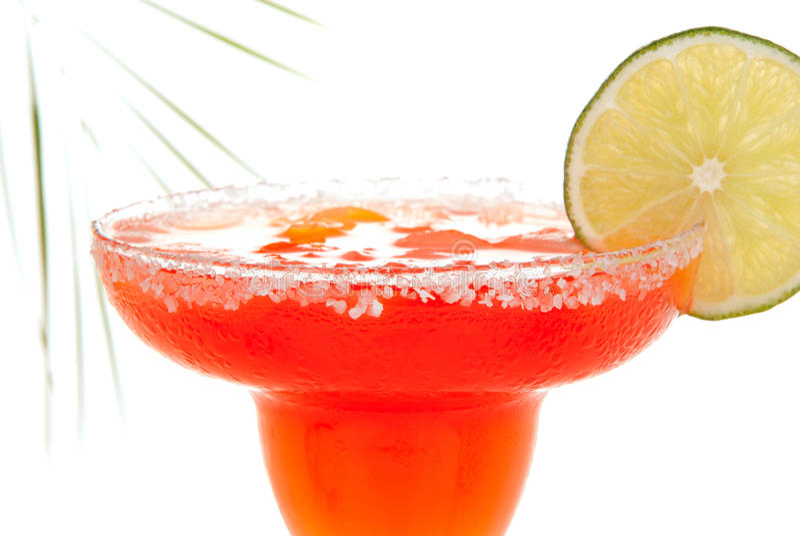 Cocktail de margarita de fraise images stock