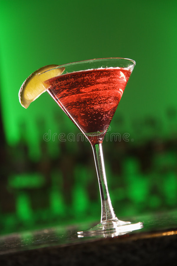 Cocktail de Martini. image stock