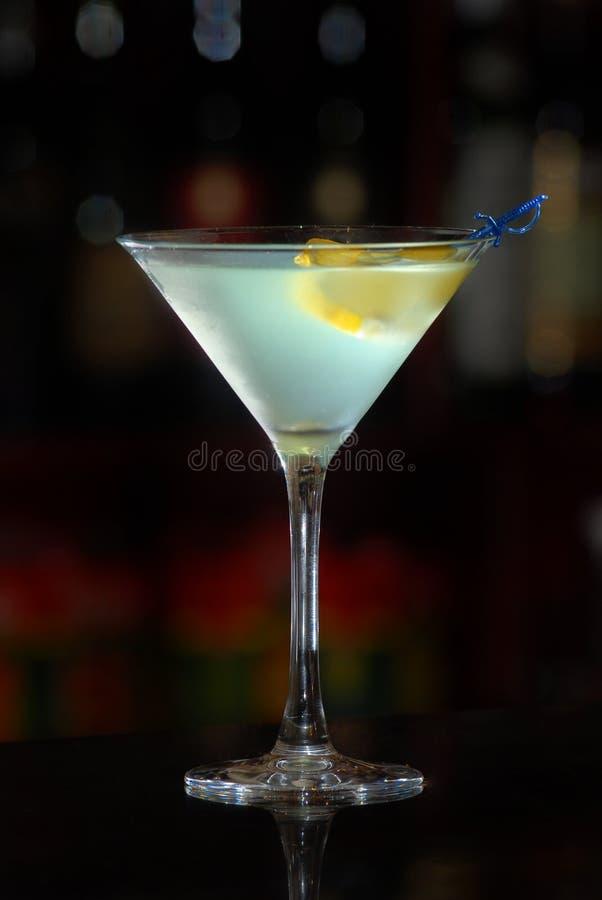 Cocktail de martini photographie stock