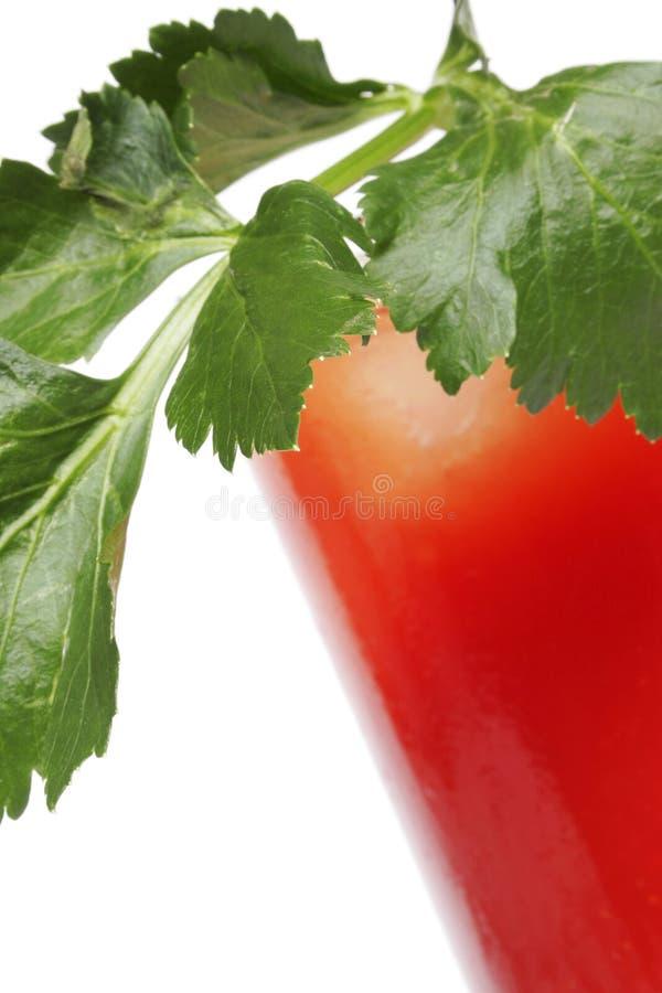 Cocktail de Mary sanglante photographie stock