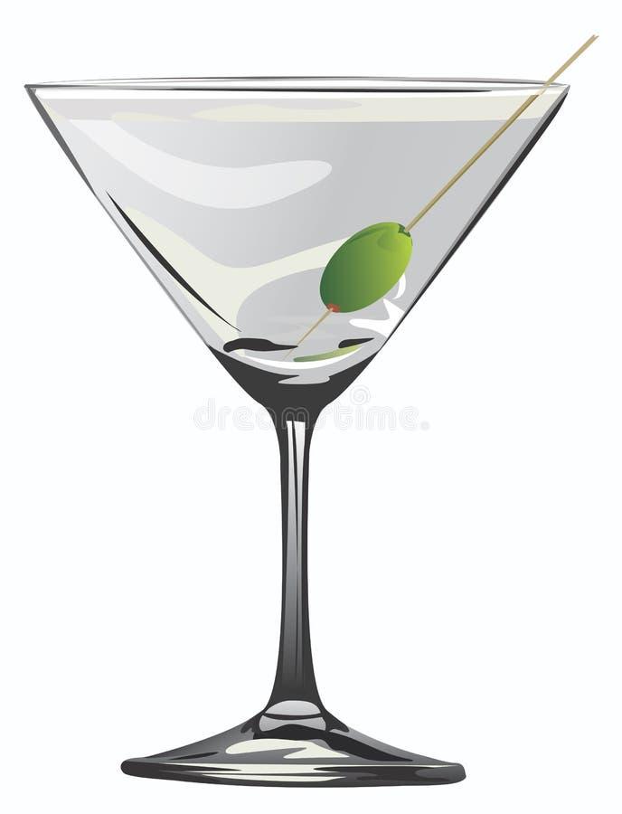 Cocktail de Matrini ilustração stock