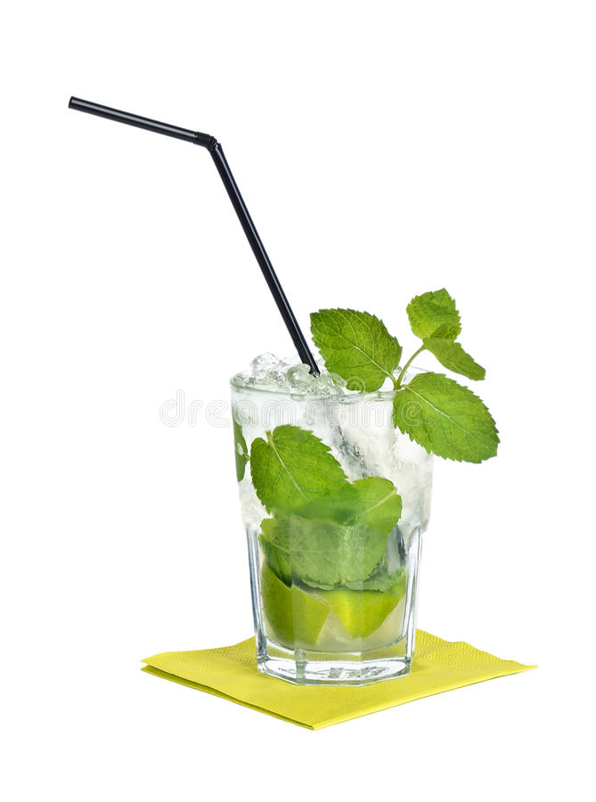 Cocktail de Mojito foto de stock royalty free