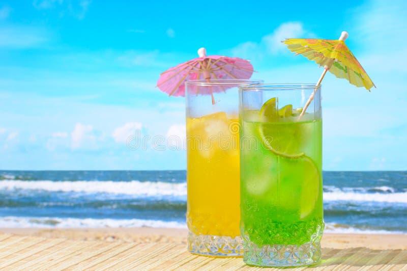 Cocktail de Mojito e de daiquiri foto de stock