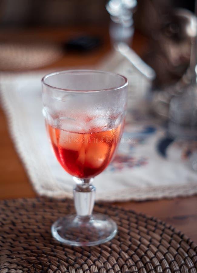 Cocktail de Negroni fotos de stock royalty free