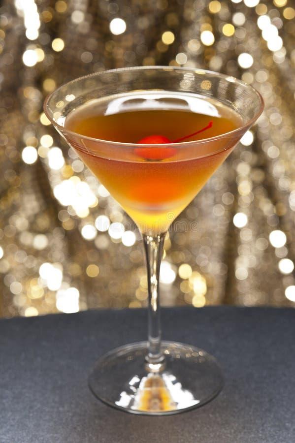 Cocktail de Rob Roy fotografia de stock