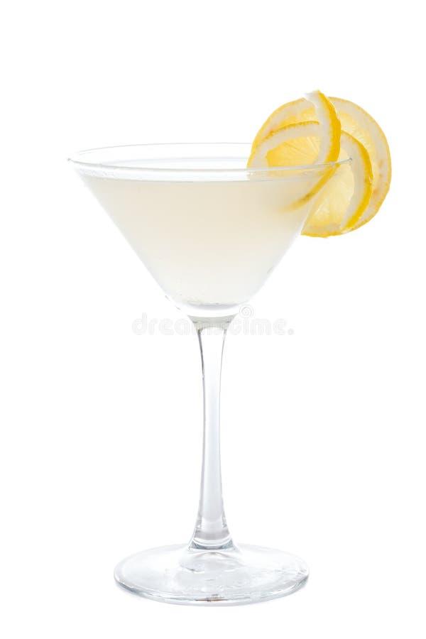 Cocktail de Tartini do limão foto de stock royalty free