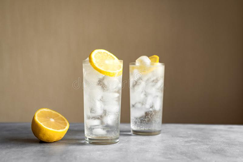Cocktail de Tom Collins imagem de stock royalty free