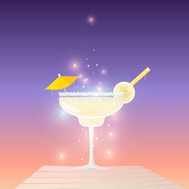 Cocktail dei daiquiri illustrazione vettoriale