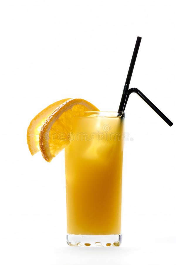 Cocktail del cacciavite fotografia stock libera da diritti
