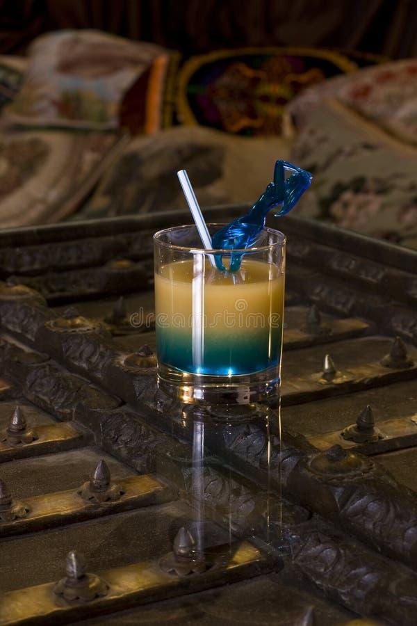 Cocktail del commerciante fotografia stock libera da diritti