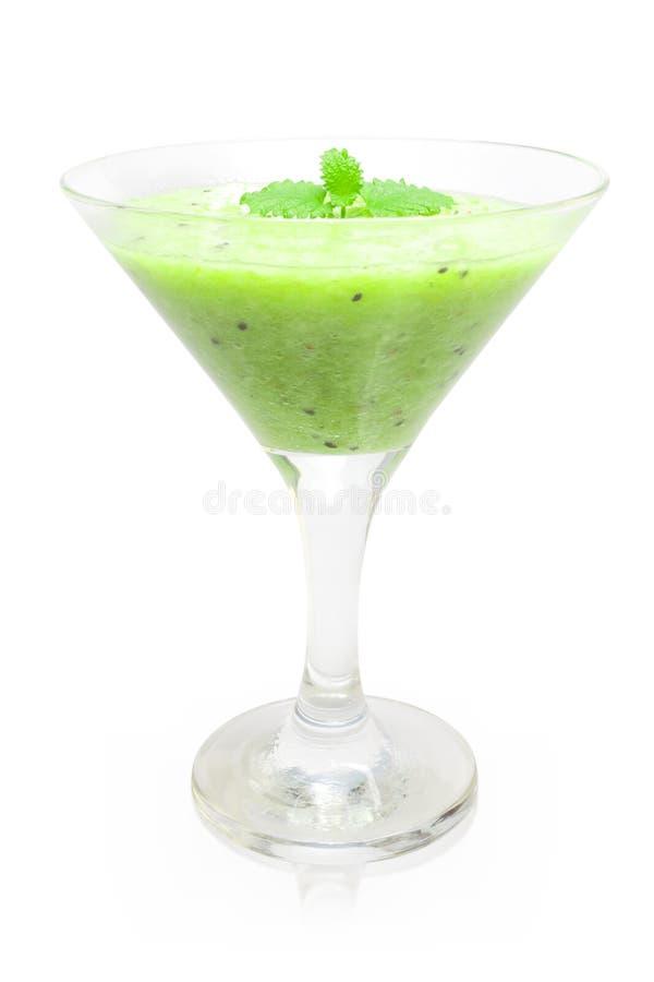 Cocktail del kiwi fotografie stock libere da diritti