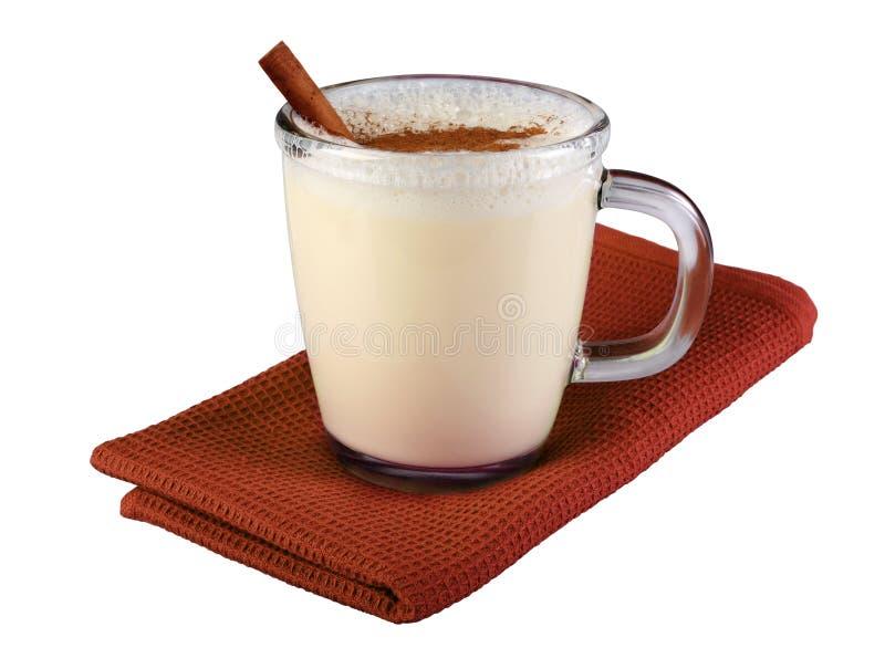 Cocktail del latte immagine stock