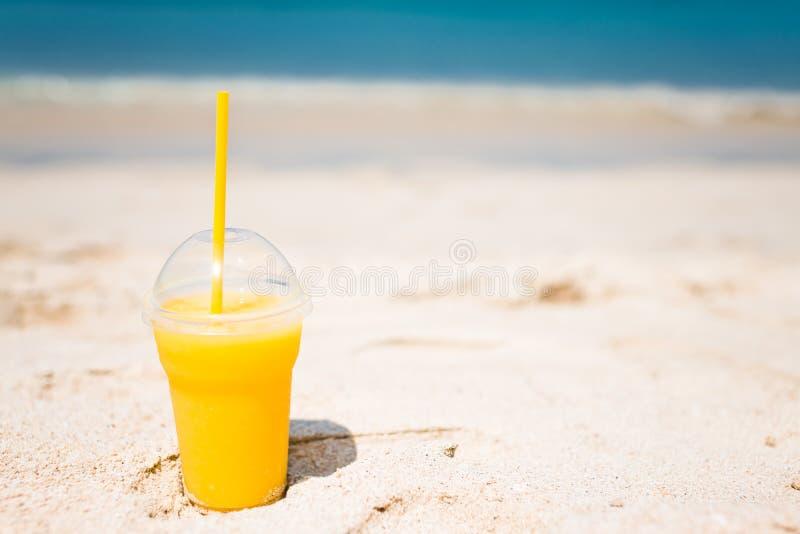 Cocktail del mango fotografie stock