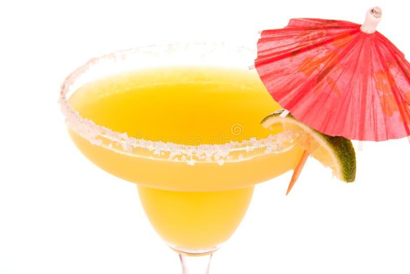 Cocktail del margarita del Apple e dell'arancio fotografia stock