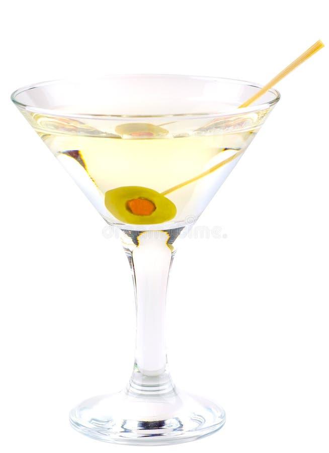 Cocktail del Martini fotografia stock