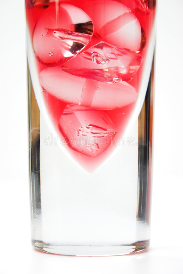 Cocktail del mirtillo fotografie stock libere da diritti