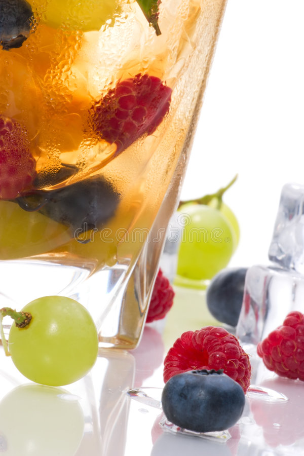 Cocktail del punzone di Kew fotografie stock