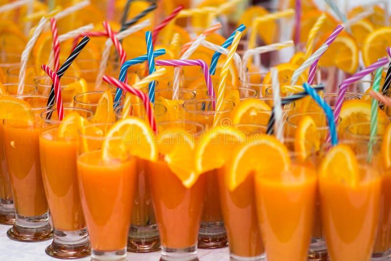 Cocktail del succo d'arancia fotografie stock