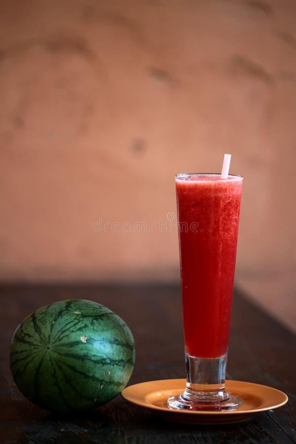 Cocktail dell'anguria fotografia stock