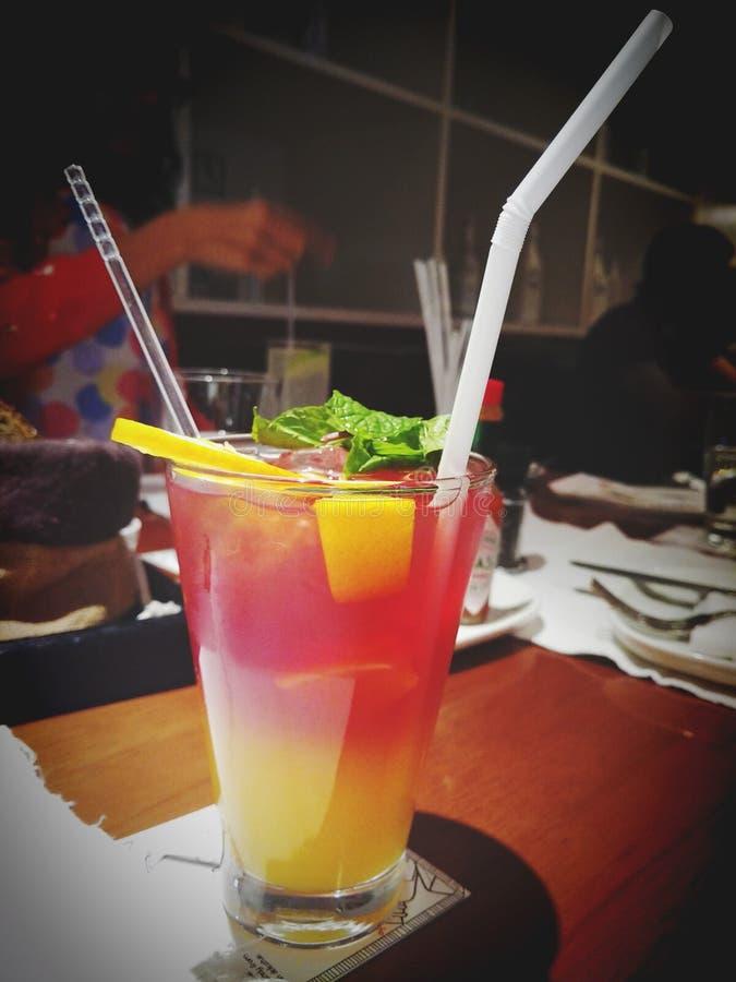 Cocktail dell'aperitivo della bevanda fotografia stock