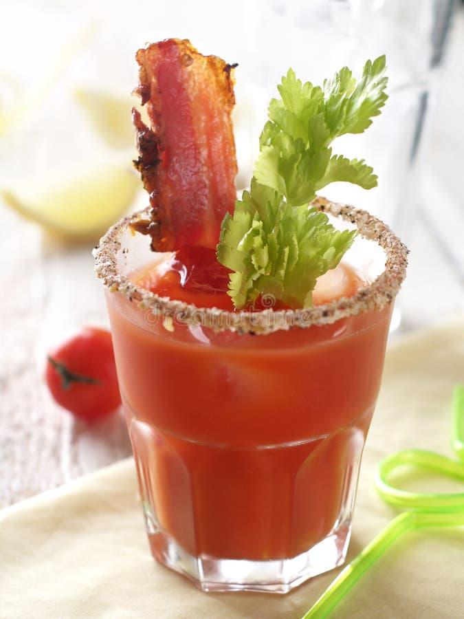 Cocktail della Mary sanguinante fotografie stock