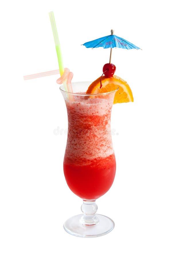 Cocktail della perforazione di frutta fotografia stock