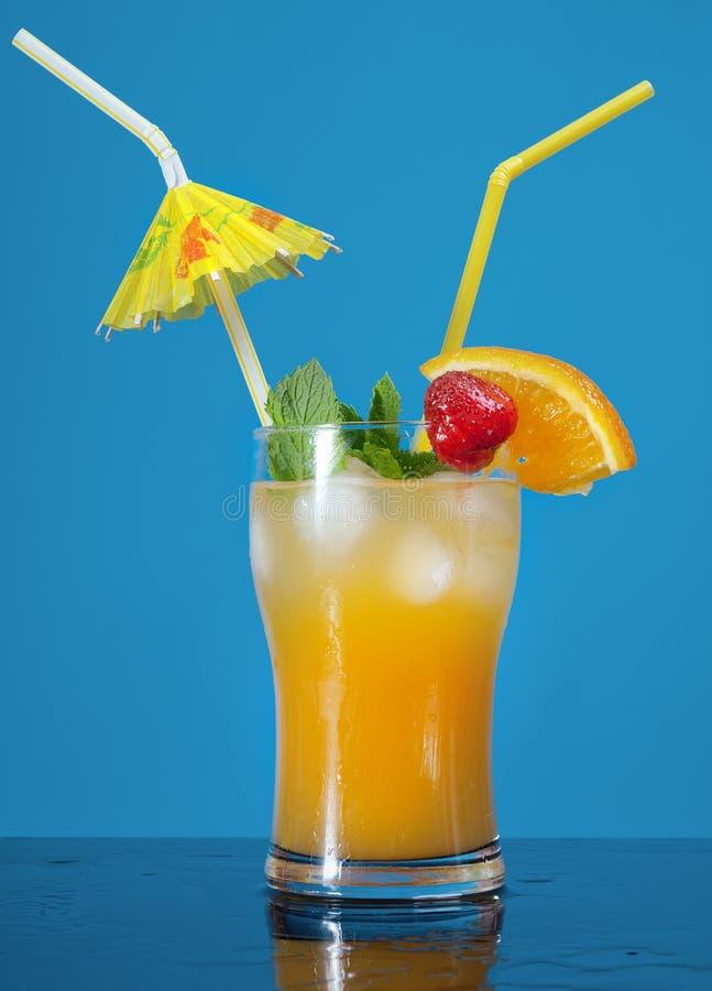 Cocktail delle fragole di Mojito fotografia stock