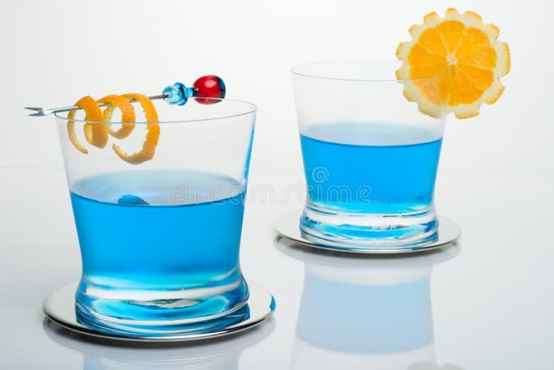Cocktail dello squalo blu immagine stock libera da diritti