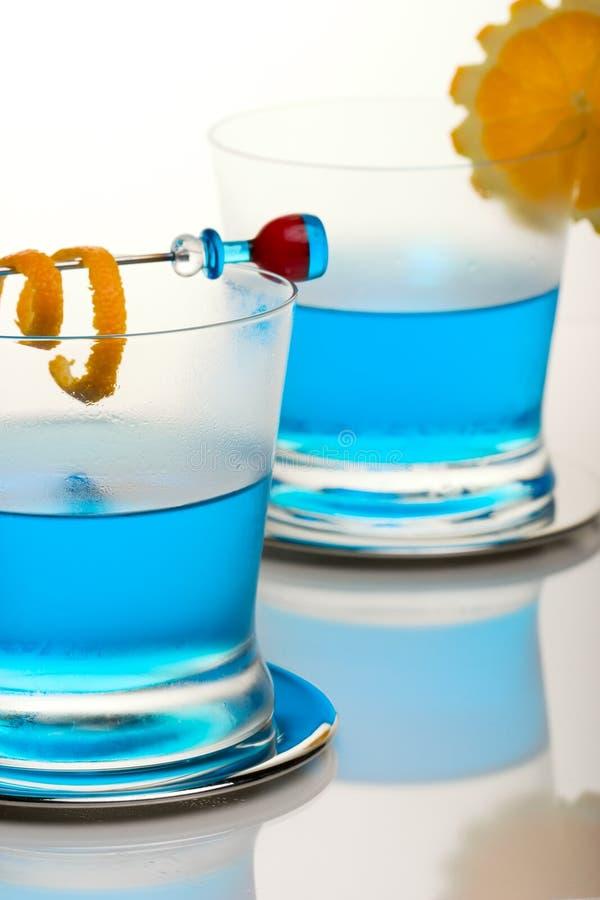 Cocktail dello squalo blu immagini stock libere da diritti