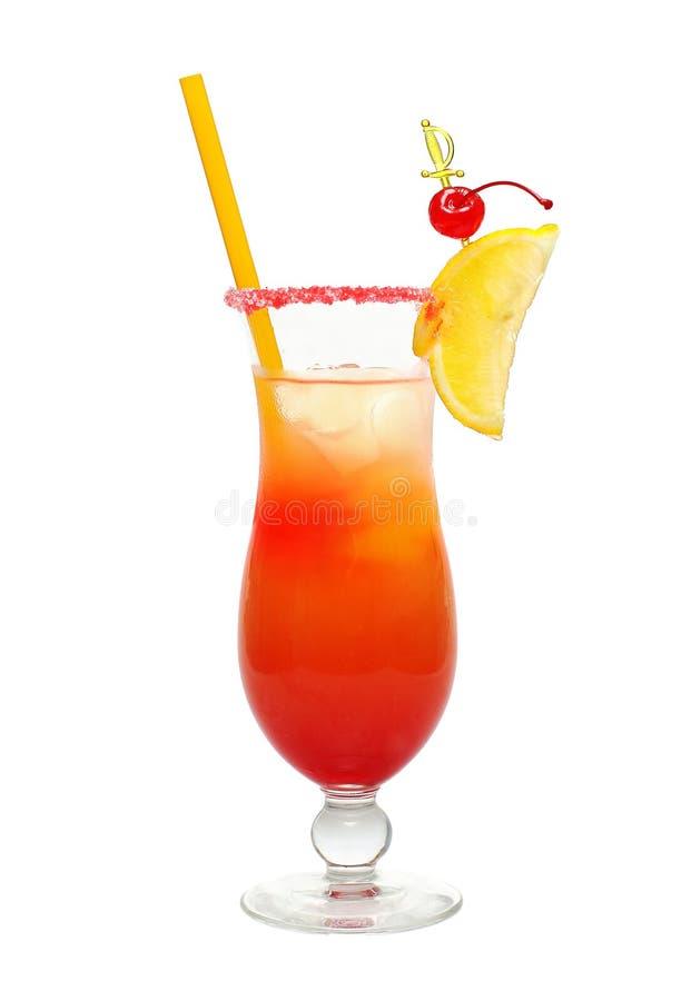 Cocktail di alba di Tequila fotografie stock