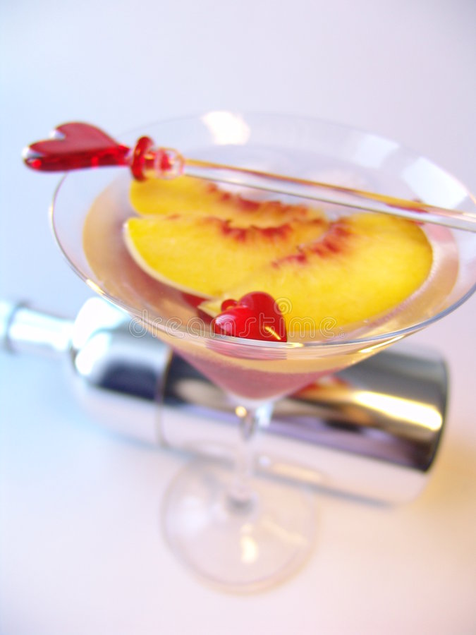 Cocktail di amore immagine stock libera da diritti