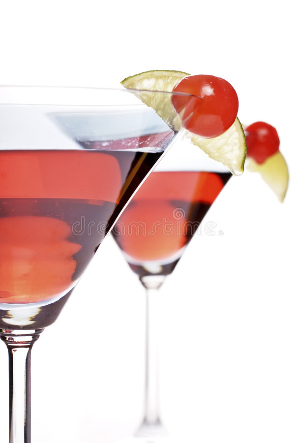 Cocktail di Bacardi immagine stock libera da diritti