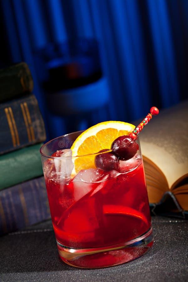 Cocktail di Bourbon immagine stock libera da diritti