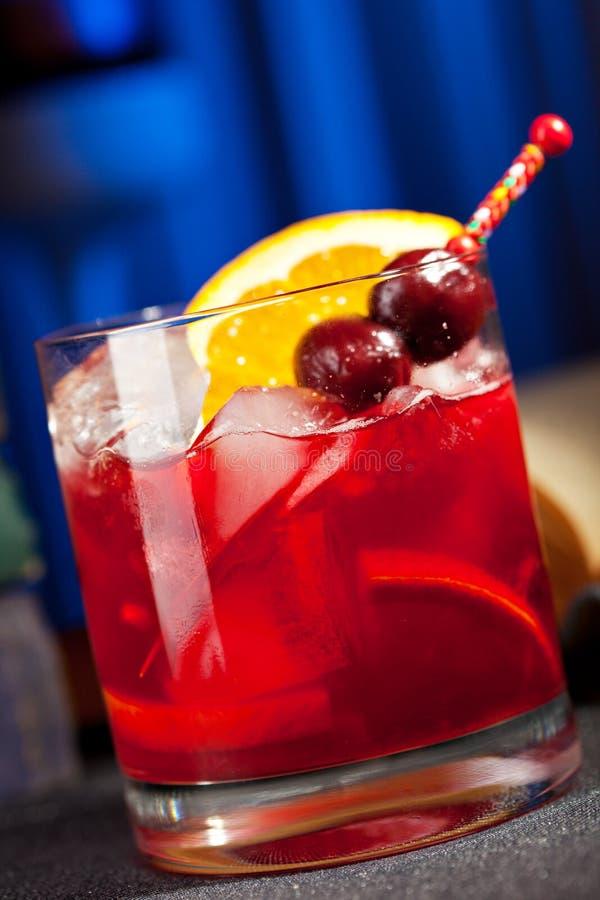 Cocktail di Bourbon fotografia stock