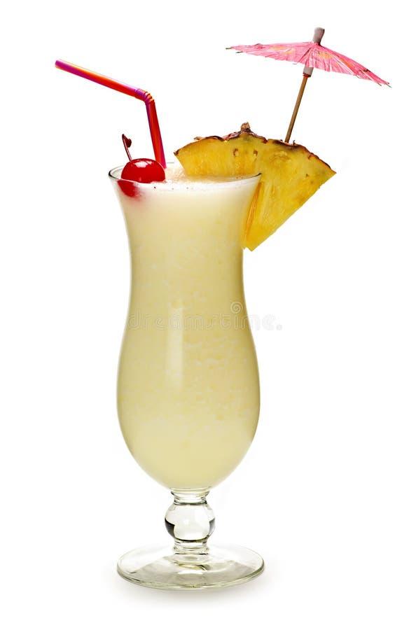 Cocktail di colada di Pina fotografie stock libere da diritti