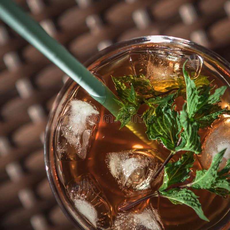 Cocktail di estate fotografia stock libera da diritti
