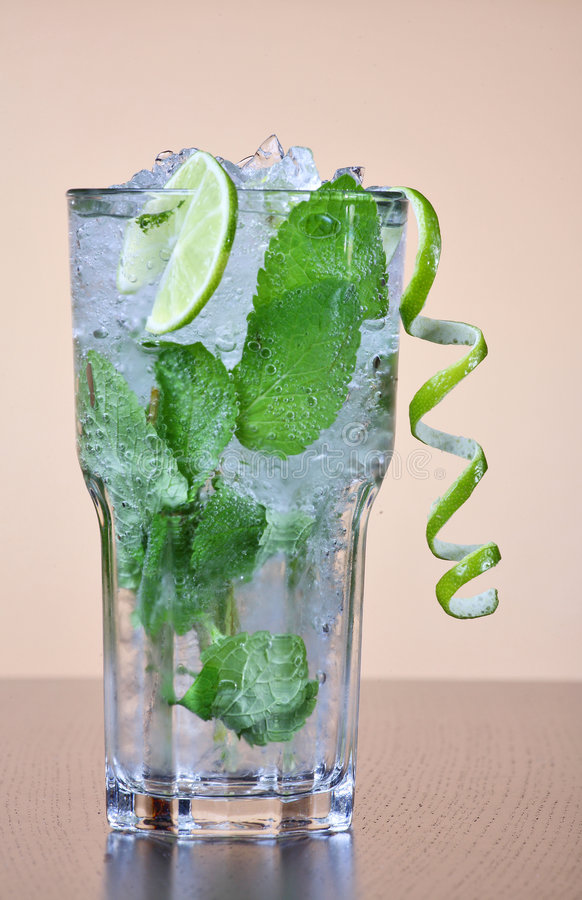 Cocktail di Mojito fotografie stock libere da diritti