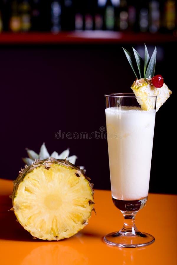 Cocktail di Pinacolada fotografia stock