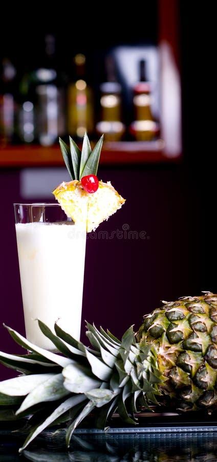 Cocktail di Pinacolada fotografia stock libera da diritti