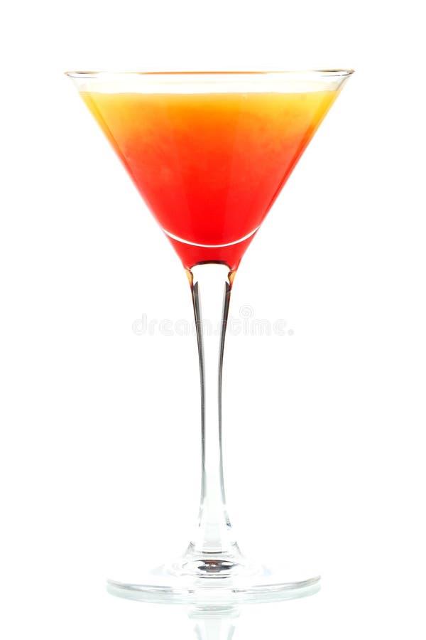 Cocktail do álcool do nascer do sol do Tequila imagem de stock royalty free