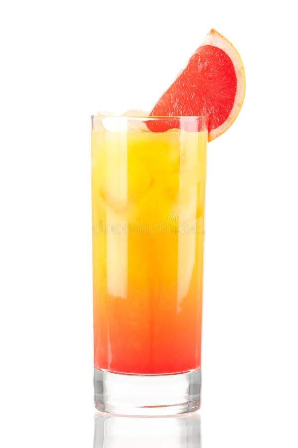 Cocktail do álcool do nascer do sol do Tequila imagens de stock royalty free