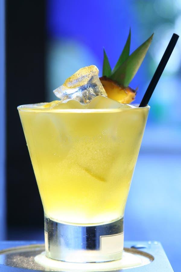Cocktail do abacaxi foto de stock