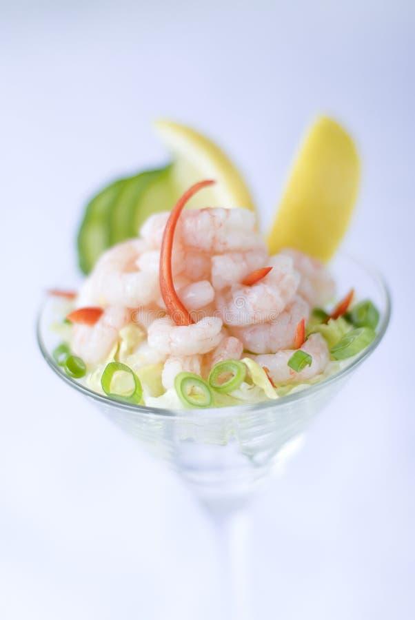 Cocktail do camarão imagem de stock royalty free