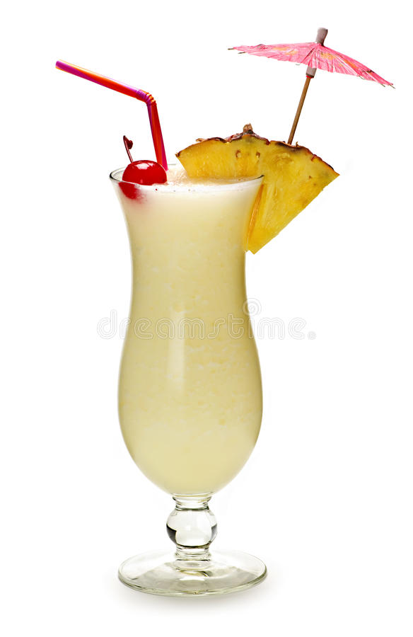 Cocktail do colada de Pina fotos de stock royalty free